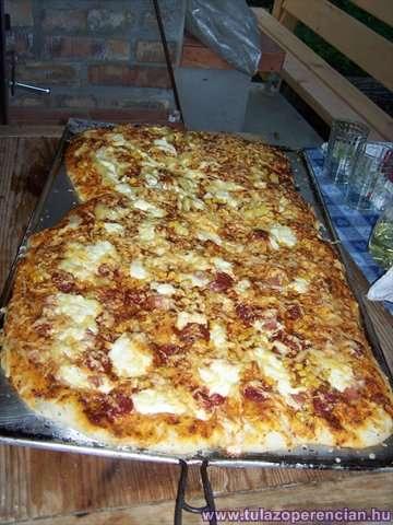 Pizza elkészült